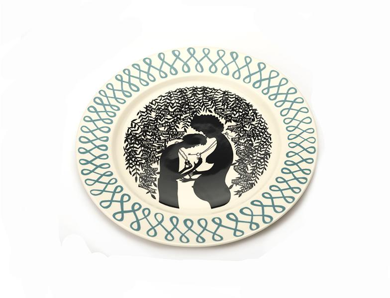 Rob Ryan We Were Only So Small Platter 2015  image